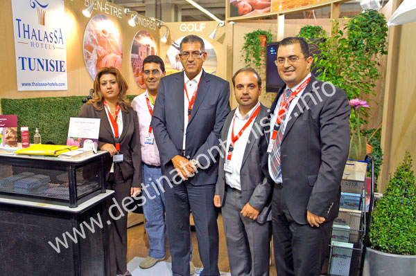 Professionnels tunisiens à l'IFTM Top Resa 2010