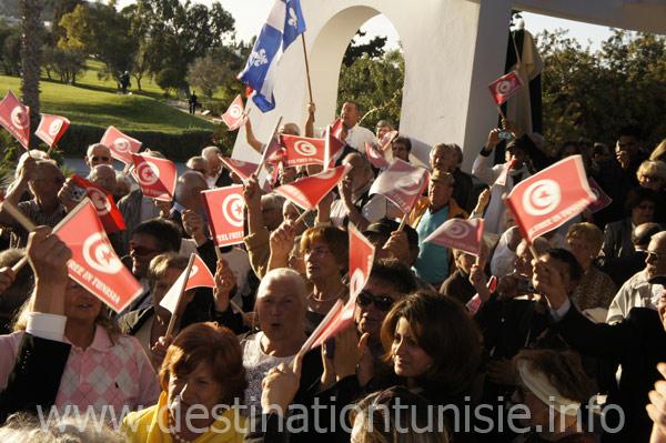 Opération de relations publiques des hôteliers de Sousse