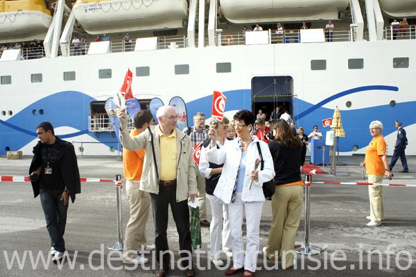 Le port de la Goulette renoue avec les croisières