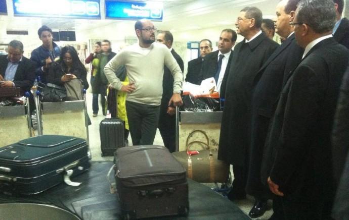 Descente inopinée à l'aéroport Tunis-Carthage du chef du gouvernement