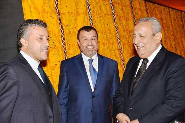 L'ambassadeur du Maroc, avec les DG de Ahlen Prestige et du Regency