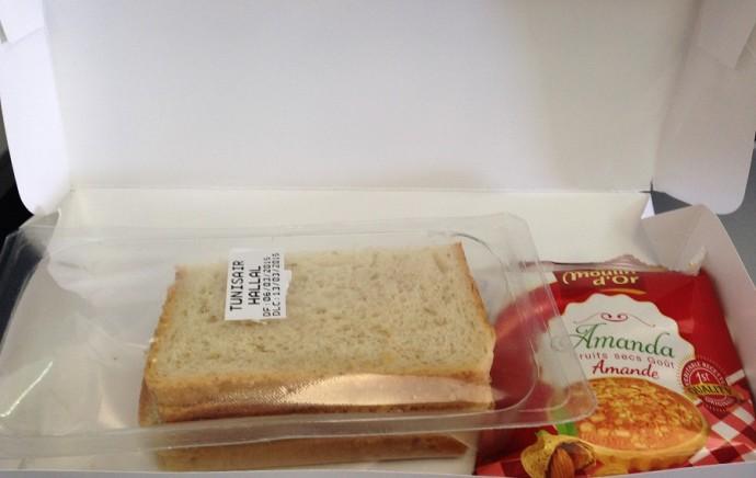 Tunisair en mode sandwich Halal à bord de ses avions