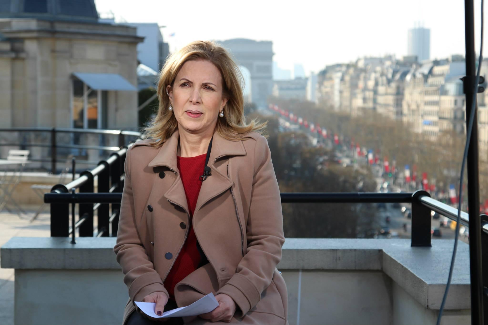 La ministre du Tourisme dans une interveiw en direct de Paris pour CNN