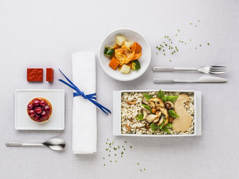 air france tunis repas a bord business class