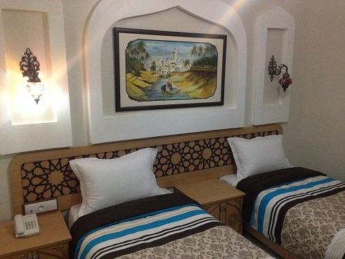Chambre de l'hôtel Saheb Ettabaâ à Tunis