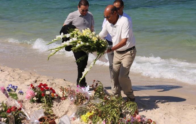 Un ex-président commémore le 7e jour de l'attentat