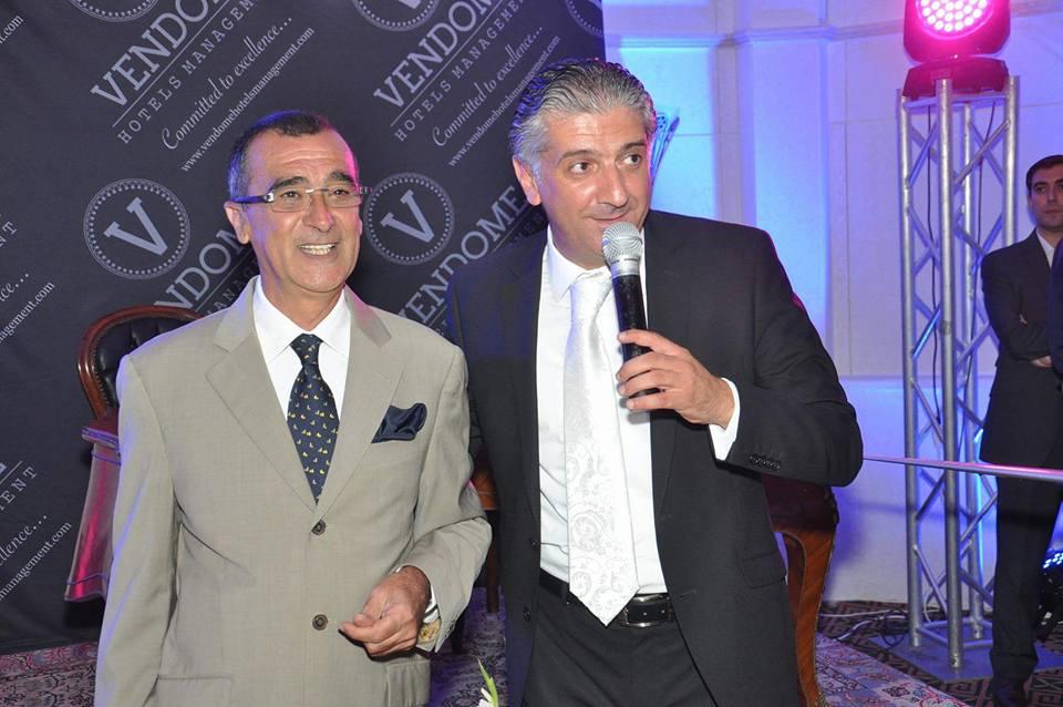 Férid Oueslaty (à g.) et Karim Métahni.