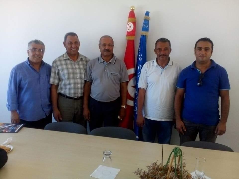 Les membres du nouveau bureau de la FRAV sud-est.