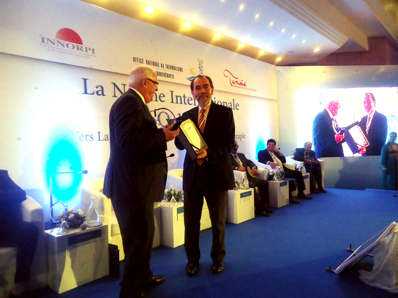 Le ministre Saïd Aïdi récompensé pour son implication dans le processus ISO 17680.