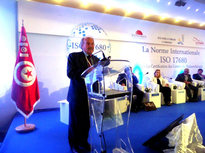 Giovanni Gurnari, vice-président de la Fédération Mondiale du Thermalisme et du Climatisme, a dit envisager un partenariat avec l'OMS et la thalasso.