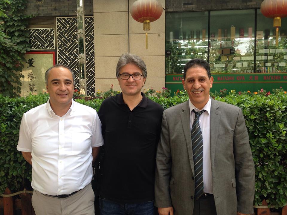 A Pékin, rencontre entre le directeur de l'ONTT en Chine, le président de la FTAV et le représentant sur place d'Air Algérie.