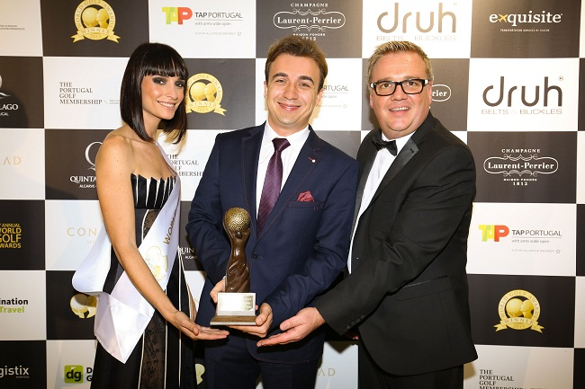 Anis-Suissi---Le-Royal-Hammamet---World-Golf-Awards Portugal 2015