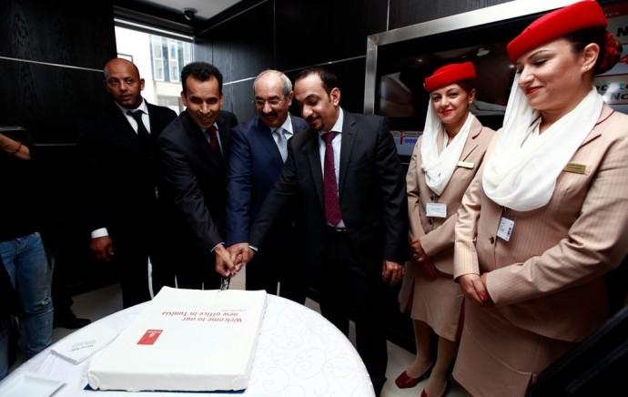 Emirates inaugure ses nouveaux bureaux à Tunis
