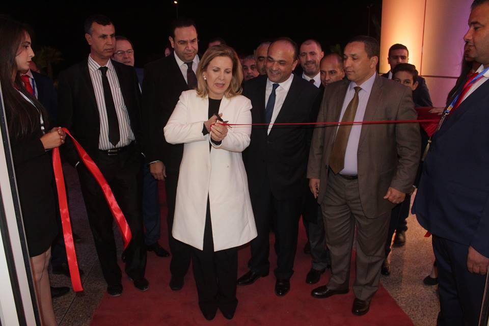 La ministre du Tourisme inaugurant le Mall.