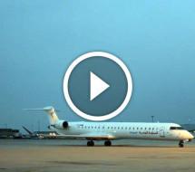 Tunisair Express arrive à l'aéroport Paris-CDG en régulier