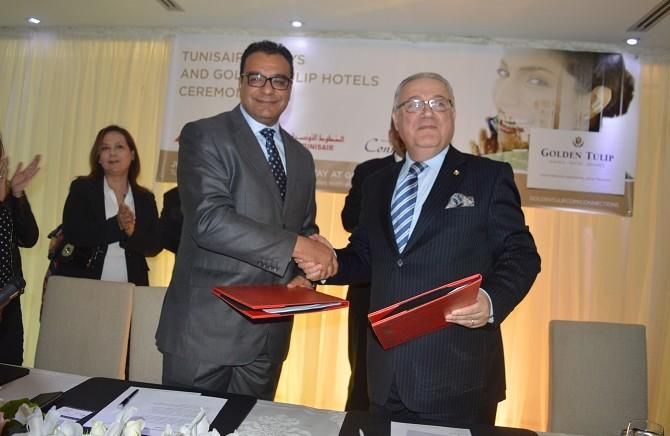 Tunisair et Golden Tulip s'associent pour mieux fidéliser leur clientèle