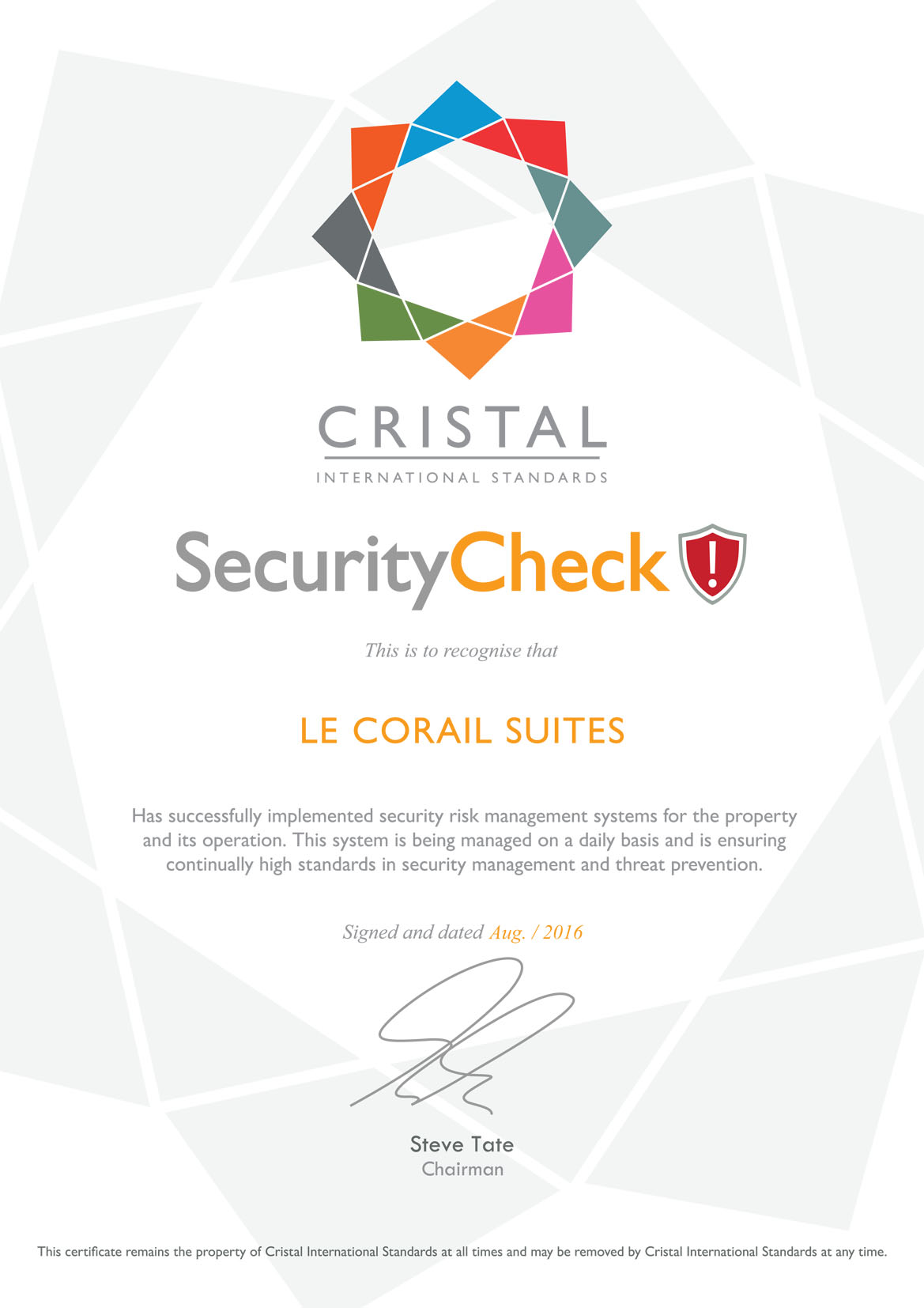 Cristal - Security - Icon.ai