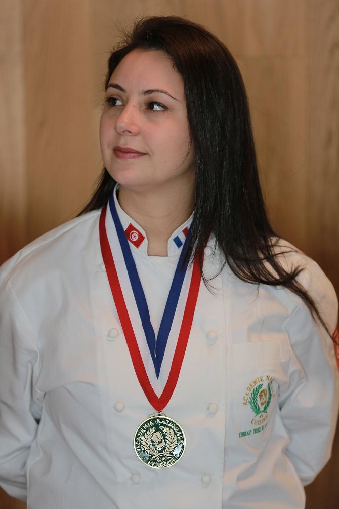 Chiraz El Ghoul, chef pâtissier.