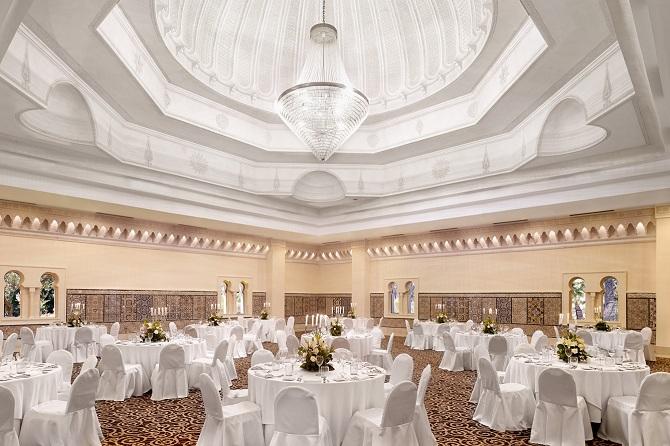 Ballroom Chichkhan qui accueillera le dîner-gala du 31 décembre.