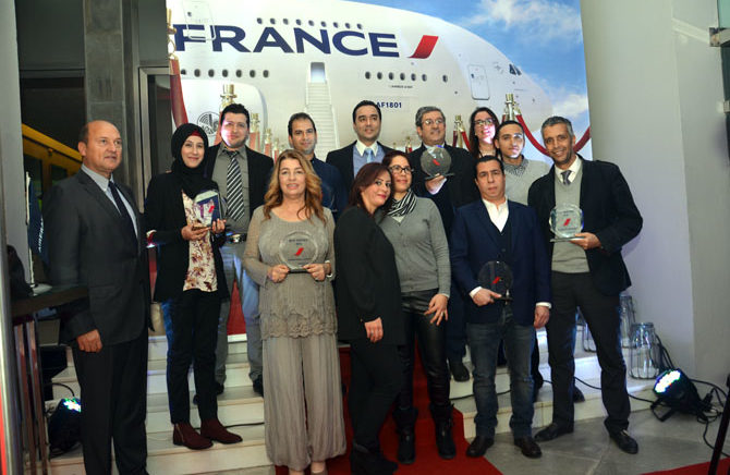 Air France Tunis récompense son réseau de vente
