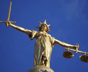 Lady Justice, Old Bailey, Londres.