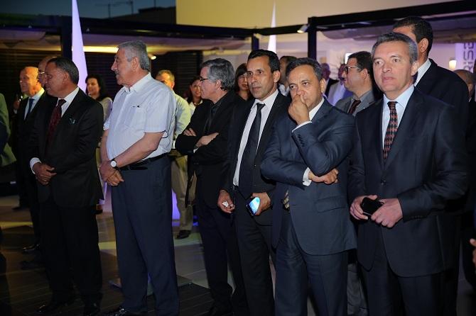 La cérémonie a été marquée par la présence de nombreux hauts cadres du transport aérien en Tunisie (on reconnait notamment sur la photo Habib Mekki, directeur général de l'Aviation civile) ou encore Ali Miaoui, directeur général adjoint commercial de Tunisair.