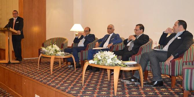 De g. à dr, Hichem Hajri, Khaled Fakhfakh, Nabil Bziouech, Ahmed Karam et Moez Gueddas.