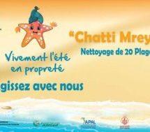 Campagne « Chatti Mreya » le 21 mai pour le nettoyage des plages
