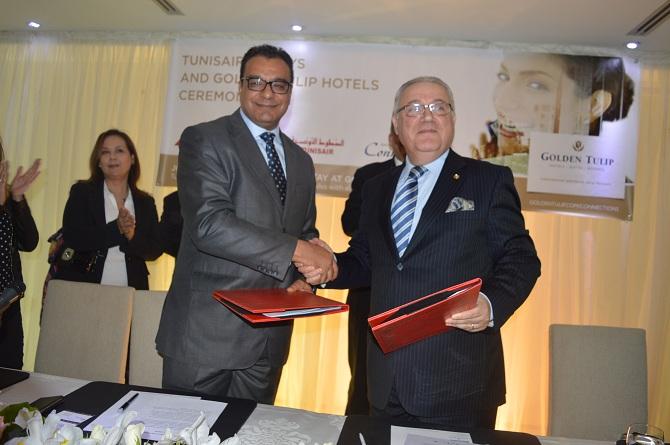 tunisair et golden tulip hotels s'associent dans le cadre du programme de fidélité Fidelys de Tunisair