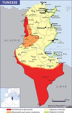 voyage tunisie quai d'orsay