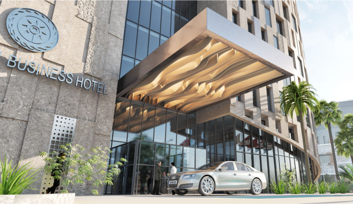 business hotel tunis asbu