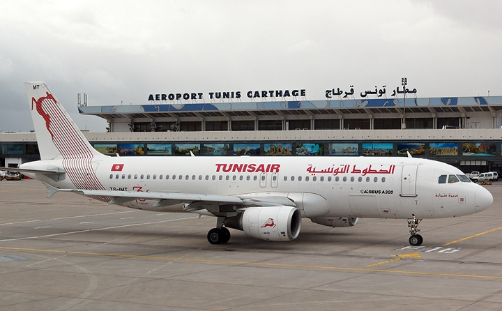 tunisair aeroport tunis carthage
