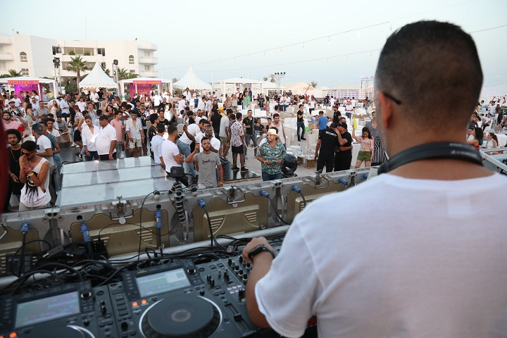 beach party djerba