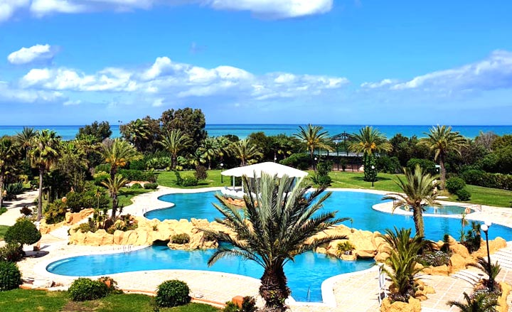 piscine-regency-tunis-hotel